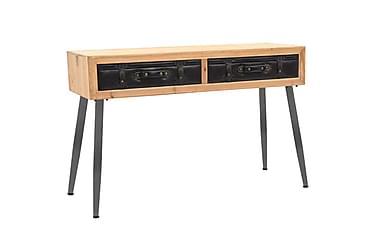 Konsolbord massivt granträ 115x41x75,5 cm