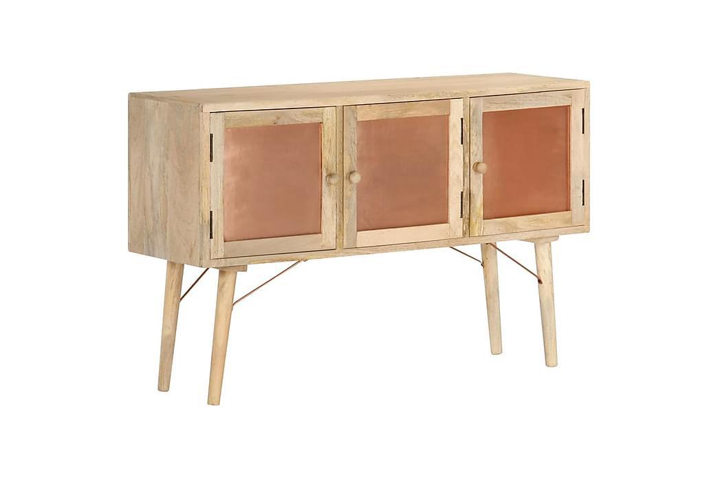 Skänk 118x35x75 cm massivt mangoträ - Brun - Möbler - Förvaring - Sideboard & skänk
