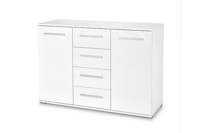 Skänk Angelita 4 Lådor + 2 Skåp - Vit - Möbler - Förvaring - Sideboard & skänk