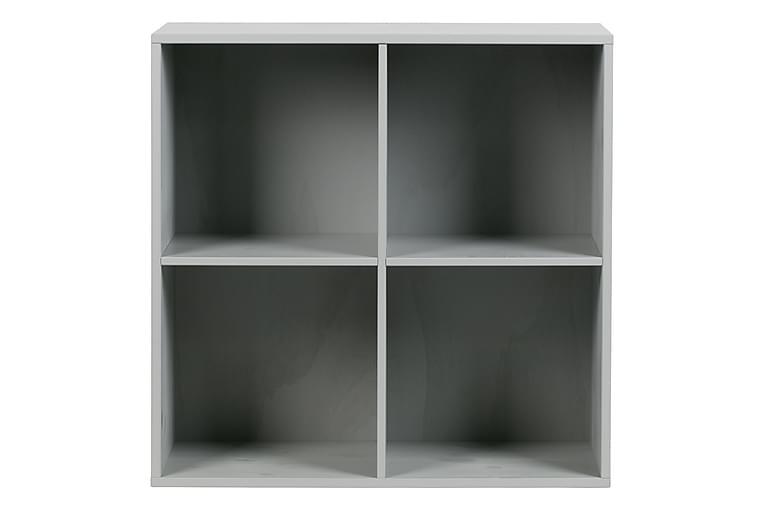 Skänk Braelyn 81x81x35 cm - Betonggrå Tall - Möbler - Förvaring - Sideboard & skänk