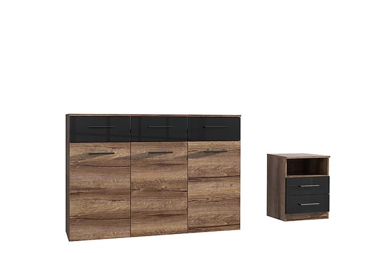 Skänk Chunning 34x135 cm - Brun - Möbler - Förvaring - Sideboard & skänk