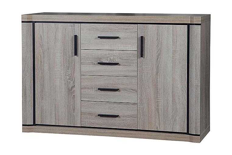 Skänk Dallas 137x43,5x91 cm - Beige/Grå - Möbler - Förvaring - Sideboard & skänk