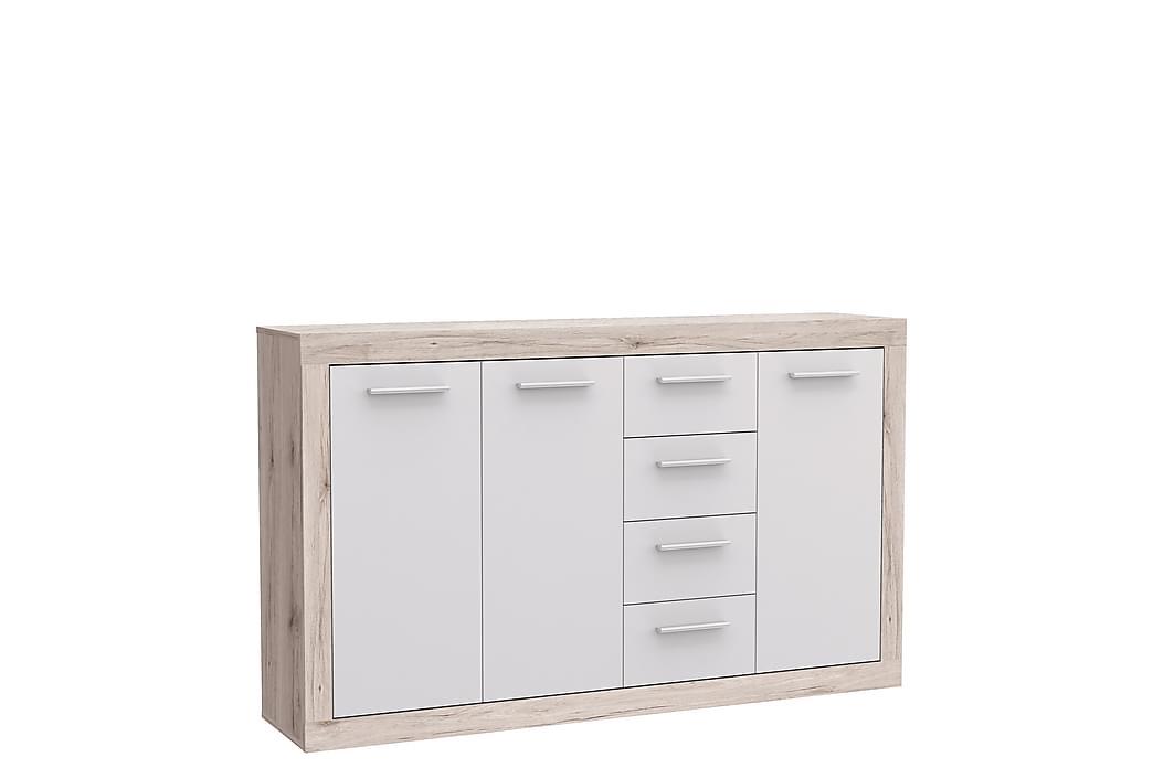 Skänk Humberson 34x153 cm - Brun|Vit - Möbler - Förvaring - Sideboard & skänk