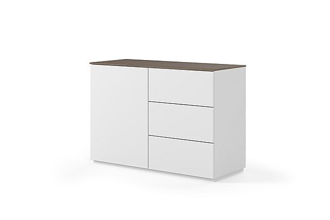 Skänk Join 120x84 cm Vit/Mörkt Trä - Temahome - Möbler - Förvaring - Sideboard & skänk