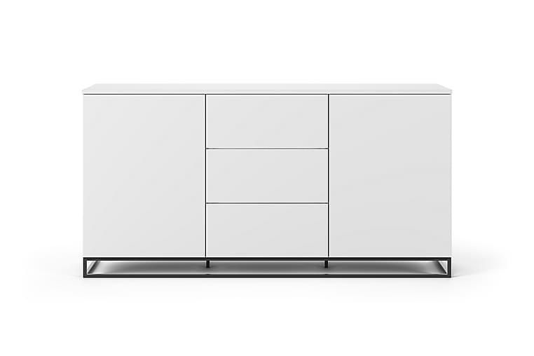 Skänk Join 180x91 cm Vit/Svart Benstativ - Temahome - Möbler - Förvaring - Sideboard & skänk