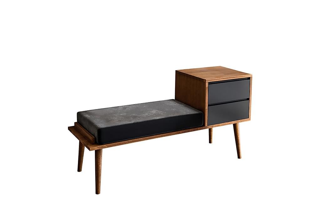 Skänk Lundtorp 120 cm - Brun Grå - Möbler - Förvaring - Sideboard & skänk