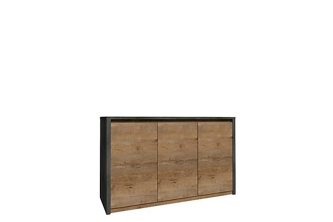 Skänk Montana 130x43x80 cm - Beige|Grå - Möbler - Förvaring - Sideboard & skänk
