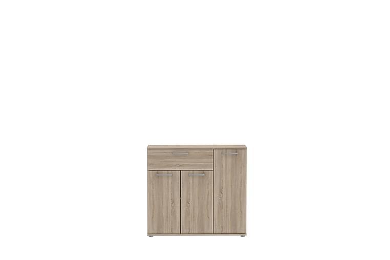 Skänk Trerank 90x82 cm - Brun - Möbler - Förvaring - Sideboard & skänk