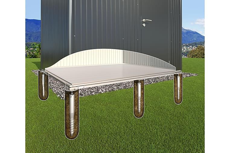Grundskruvfundament Silver - Biohort - Möbler - Förvaring - Förvaring ute