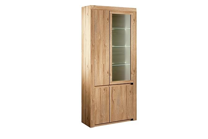 Vitrinskåp Haskett - Trä - Möbler - Förvaring - Vitrinskåp