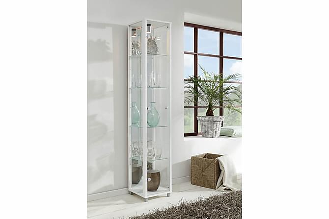 Vitrinskåp Phaidra 32 cm - Vit - Möbler - Förvaring - Vitrinskåp