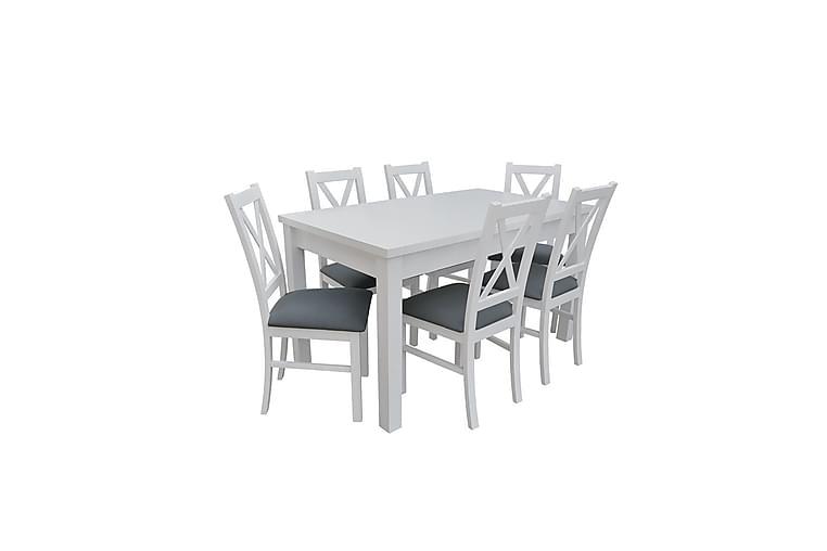 Vardagsrumsset Mekkenzi - Vit - Möbler - Möbelset - Möbelset för vardagsrum