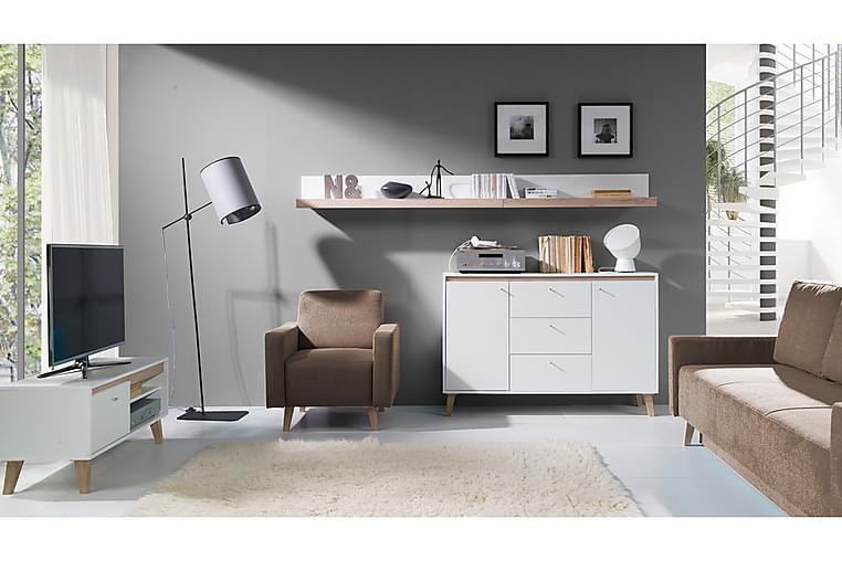 Vardagsrumsset Oviedo - Vit - Möbler - Möbelset - Möbelset för vardagsrum