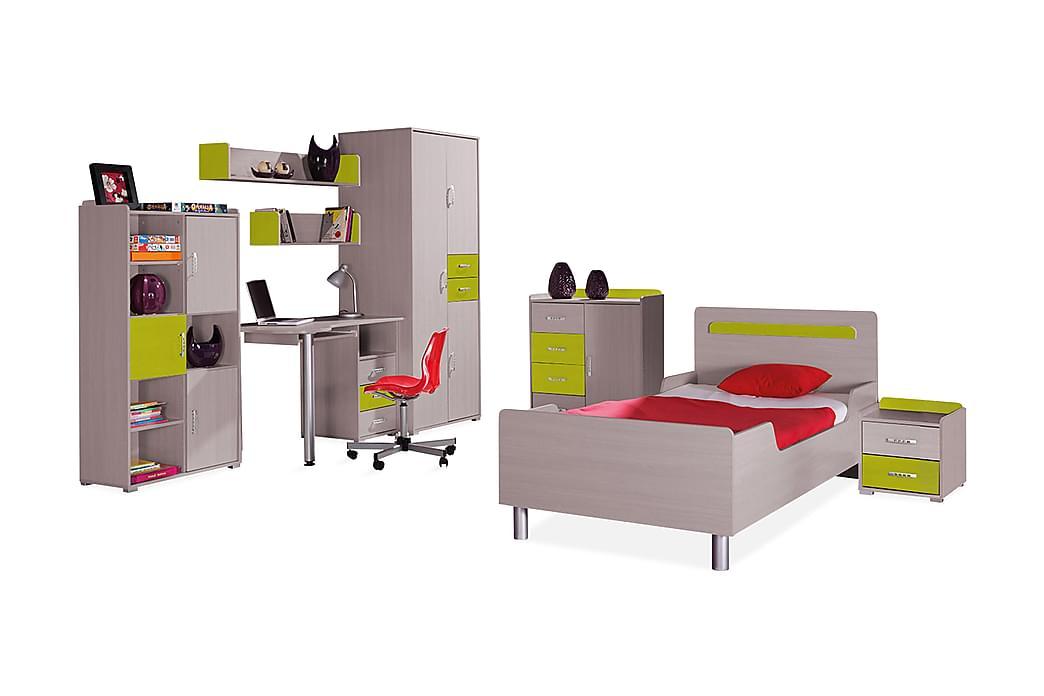 Sovrumsset barn Nemo - Trä/natur/Grön - Möbler - Möbelset - Möbelset för sovrum
