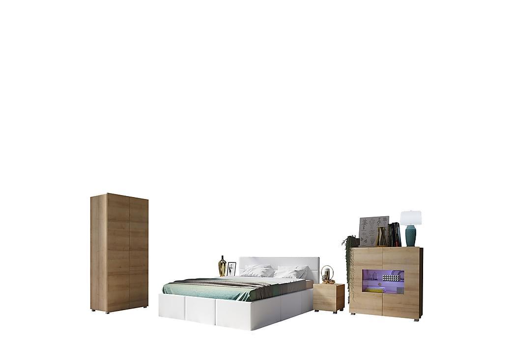 Sovrumsset Frick - Beige/Grå - Möbler - Möbelset - Möbelset för sovrum