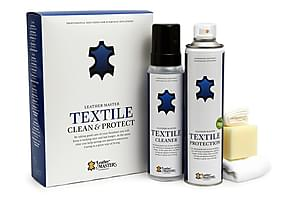 Textile Clean & Protect Kit Leather Master