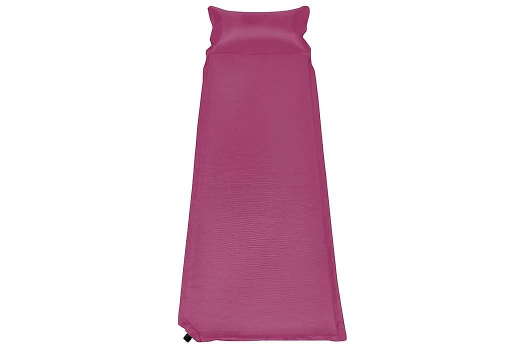 Luftmadrass med kudde 66x200 cm rosa - Rosa - Möbler - Madrasser - Luftmadrass & uppblåsbar madrass