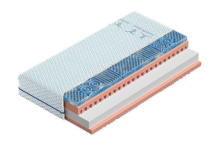 Madrass Pro Dynamic 140x200 cm - Blå - Möbler - Madrasser - Resårmadrass