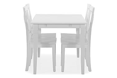 Matbord Twain med 4 st Nadica stolar