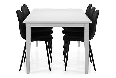 Matbord Twain med 6 st Naira stolar