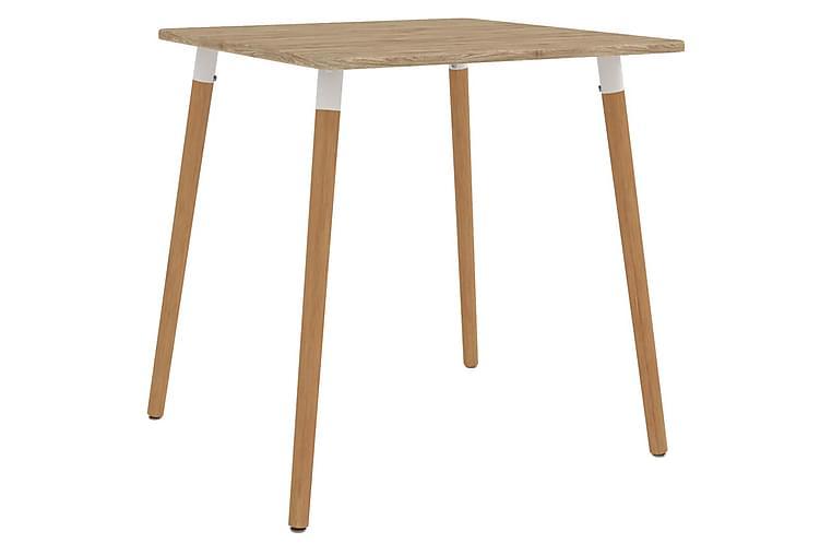 Matgrupp 3 delar grön - Grön - Möbler - Matgrupper - Rektangulär matgrupp