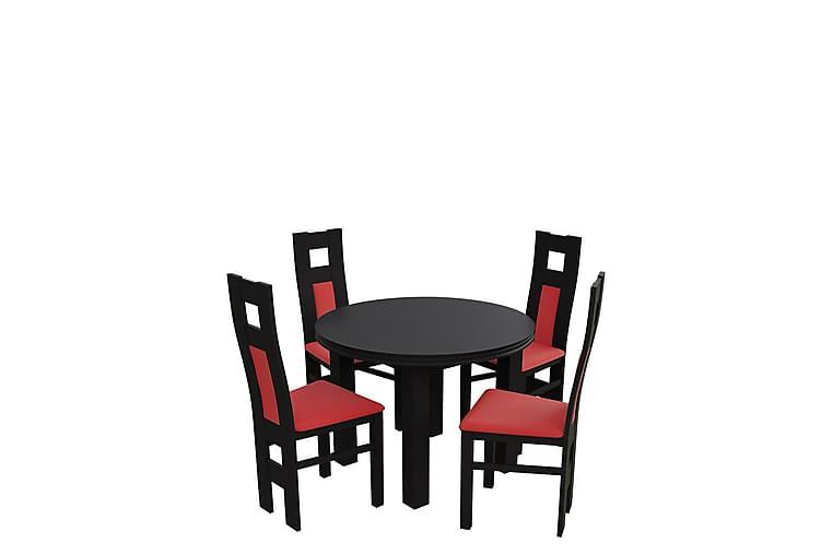 Matgrupp Bandö - Wenge - Möbler - Matgrupper - Rektangulär matgrupp