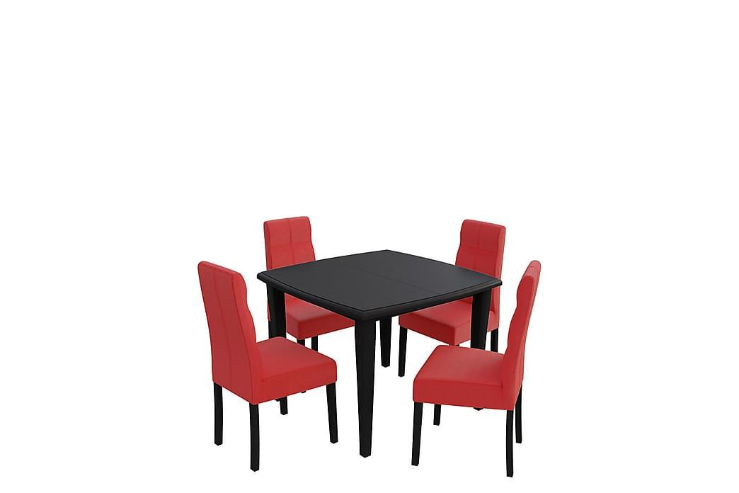 Matgrupp Bodom - Wenge - Möbler - Matgrupper - Rektangulär matgrupp