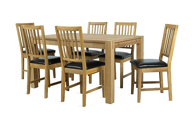 Matgrupp Chicago New med 6 stolar - Möbler - Matgrupper - Rektangulär matgrupp