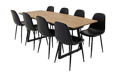 Matgrupp Ingrida med 8 Tommy Köksstol