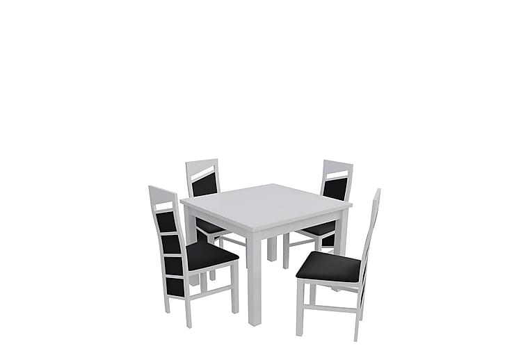 Matgrupp Itis - Vit - Möbler - Matgrupper - Rektangulär matgrupp