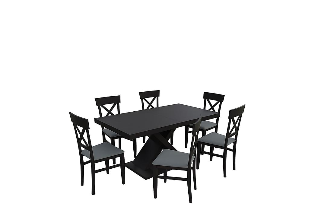 Matgrupp Kadja - Wenge - Möbler - Matgrupper - Rektangulär matgrupp