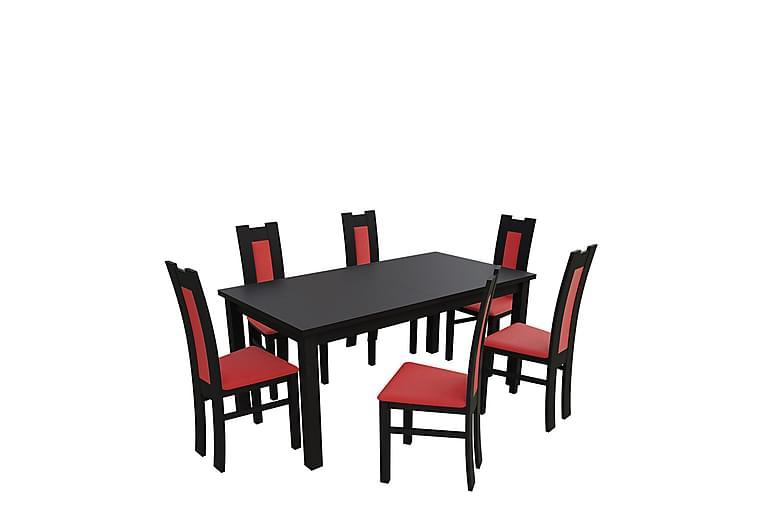 Matgrupp Kumo - Wenge - Möbler - Matgrupper - Rektangulär matgrupp