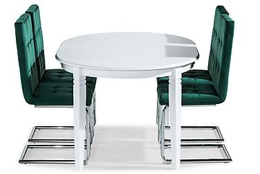 Läckö Matbord Förlängningsbart Med 4 st Jessed Matstol