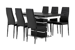 Matgrupp Mueller Förlängningsbar med 6 Fred Stol