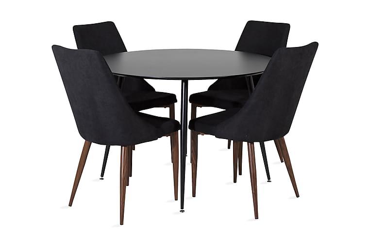 Matbord Azuer Runt med 4 st Campomar Matstol - Möbler - Matgrupper - Rund matgrupp