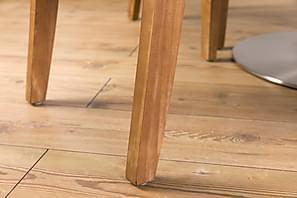 Matgrupp Blocco 120 cm med 4st Emmie stolar Beige