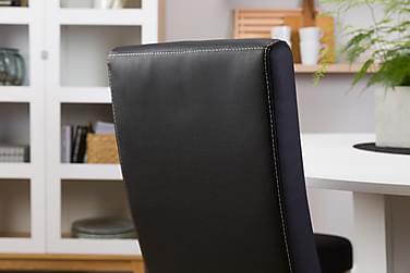 Matgrupp Blocco 120 cm med 4st Max stolar Svart