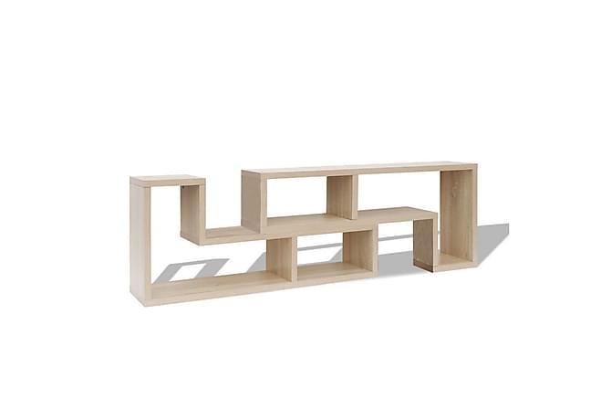 Toppen Dubbel L-formad TV-möbel ek | Chilli.se XA-97