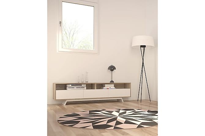 Fräscha Smart tv möbel Vit/Ek | Chilli.se HX-35