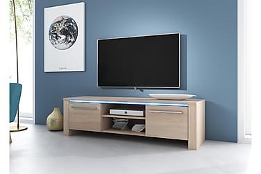 TV-bänk Dorine 160 cm LED-belysning
