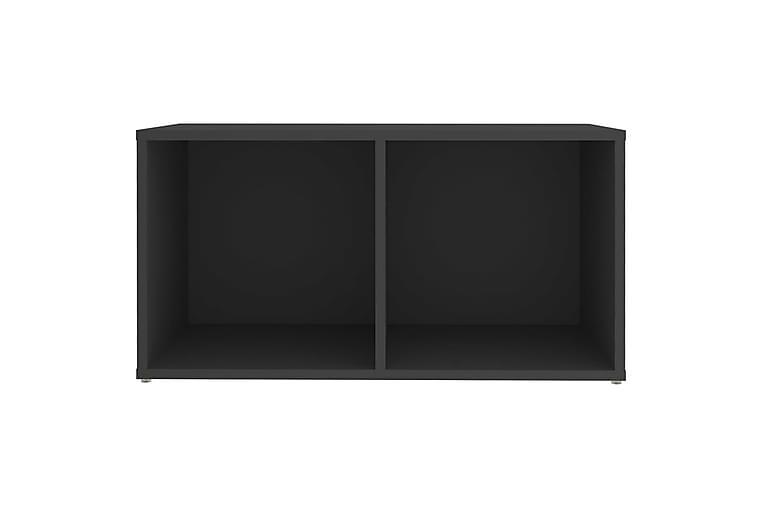 TV-bänk grå 72x35x36,5 cm spånskiva - Grå - Möbler - TV- & Mediamöbler - TV-bänk & mediabänk