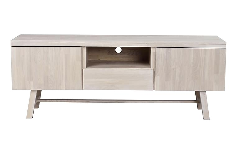 TV-bänk Harlem 160 cm - Whitewash - Möbler - TV- & Mediamöbler - TV-bänk & mediabänk