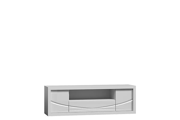 TV-bänk Paris 160x44x50 cm - Vit - Möbler - TV- & Mediamöbler - TV-bänk & mediabänk