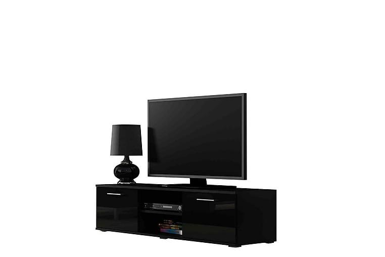TV-bänk Soho 140x43x37 cm - Svart - Möbler - TV- & Mediamöbler - TV-bänk & mediabänk