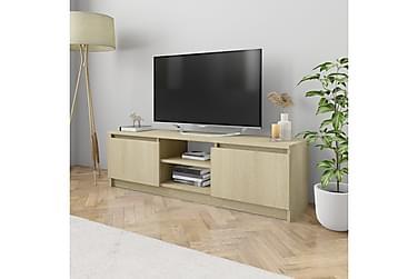 TV-bänk sonoma ek 120x30x35,5 cm spånskiva