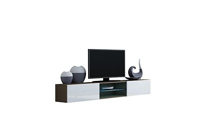 TV-bänk Vigo 180x40x30 cm - Grå - Möbler - TV- & Mediamöbler - TV-bänk & mediabänk
