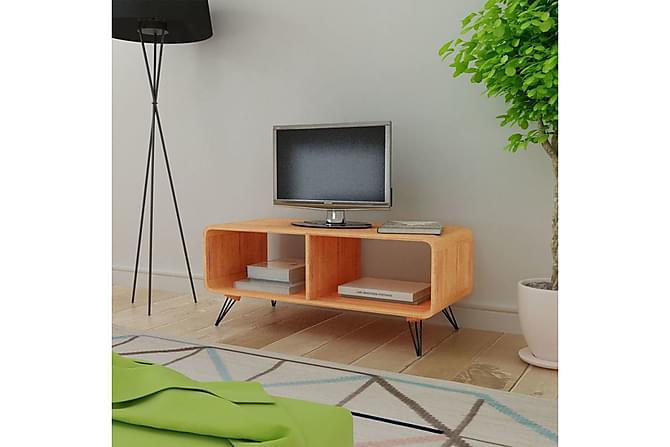 Splitter nya TV-möbel 90x39x38,5 cm Trä Brun | Chilli.se EX-41