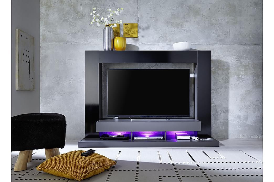 Möbelset Tina 170 cm - Svart - Möbler - TV- & Mediamöbler - TV-möbelset