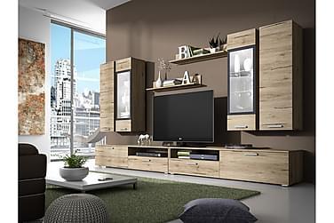 TV-möbelset Sarah 180x40x150 cm