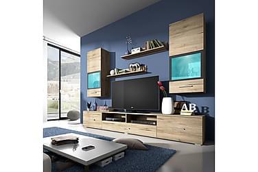 TV-möbelset Sarah 210x40x150 cm